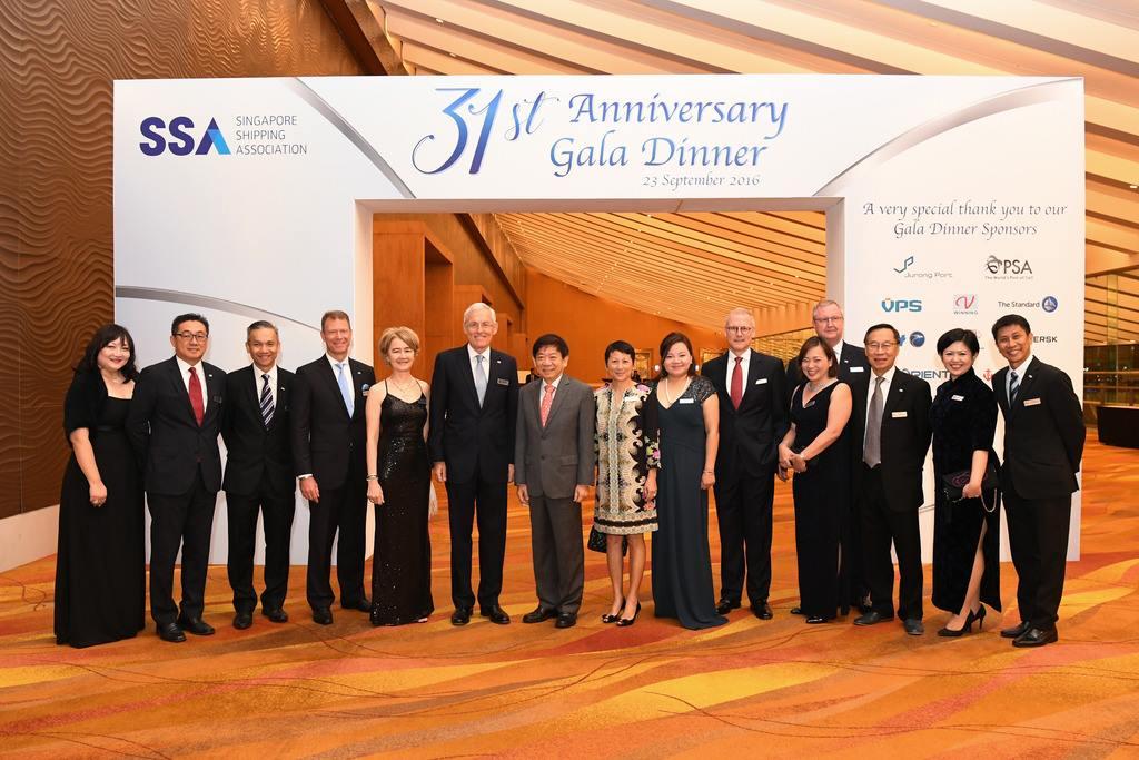 31st Singapore Shipping Association Gala Dinner