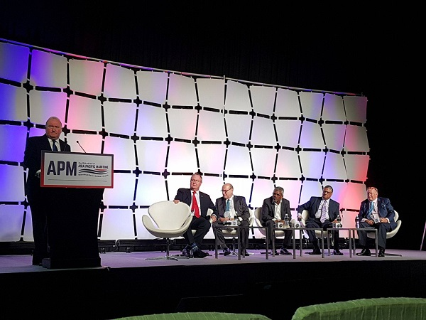 Asia Pacific Maritime Offshore Connect Session.