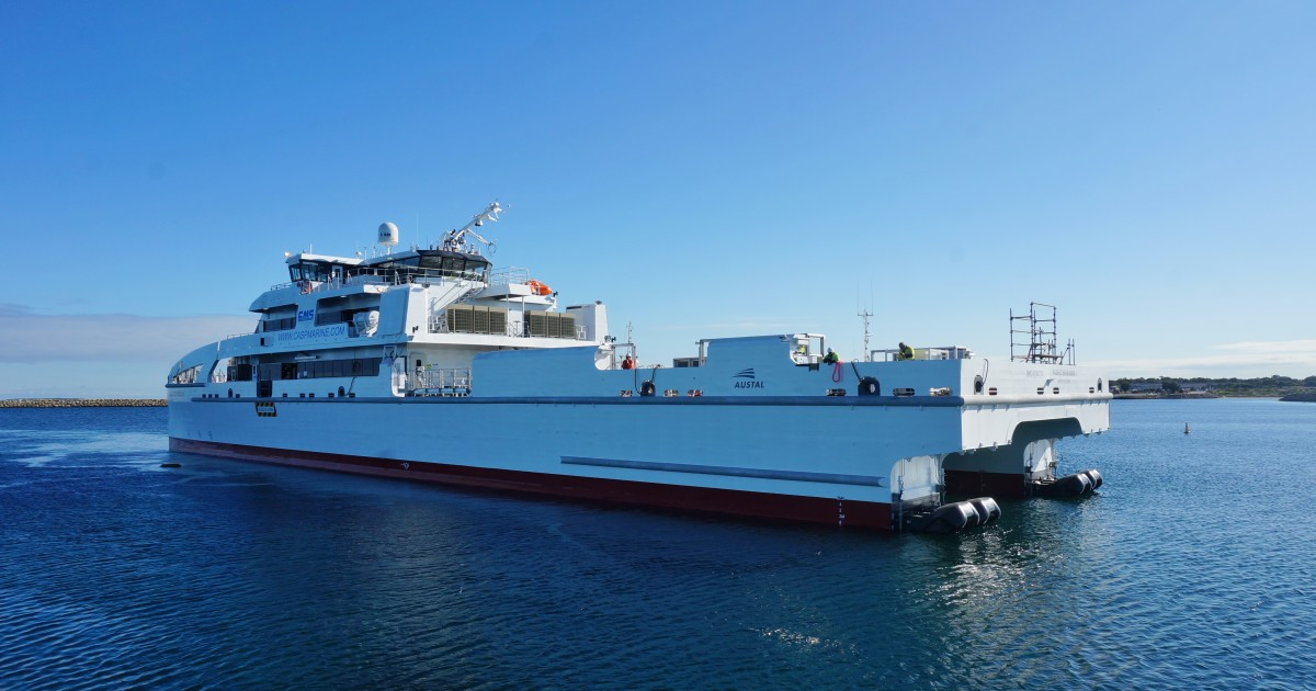 M3 Marine Expertise Proud to Work with Austal Australia