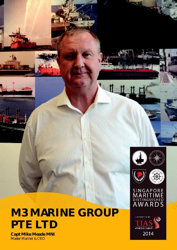 Singapore Maritime Distinguished Awards 2014