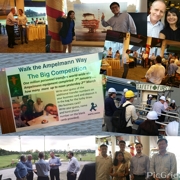 Ampelmann Asia Pacific 'Walk to Work' event