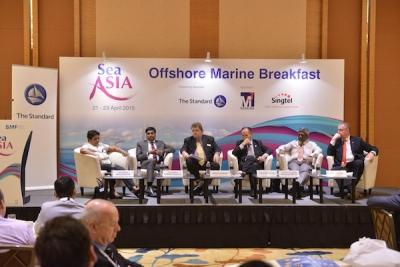 VIP Offshore Marine Breakfast at Sea Asia 2015